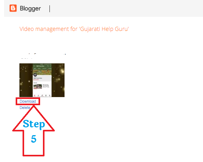 blogger video kaise download kare