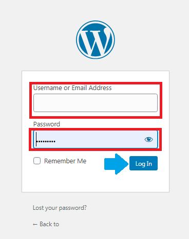 How to Log In WordPress