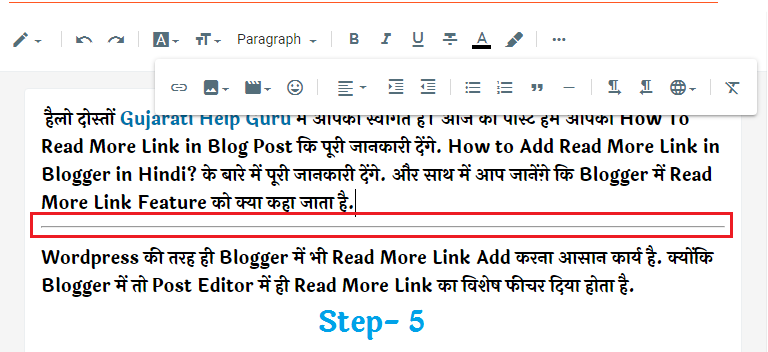 Read More Link Add